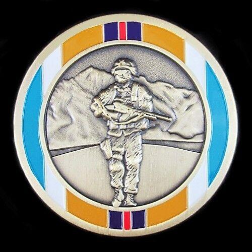 AUSTRALIAN FORCES AFGHANISTAN WAR SERVICE COIN MEDALLION MEDAL            (0)