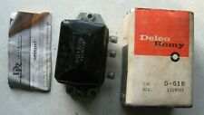 D618 1953-62 GM cars New Delco Voltage Regulator Replaces GM 1119003