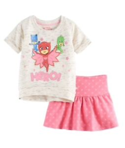 Size 2T pink NWT PJ MASKS HOW TO BE A HERO t-shirt by FROG BOX