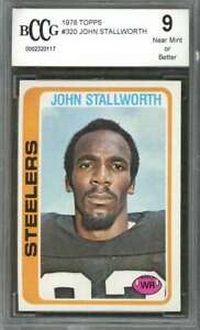 1978-topps-320-JOHN-STALLWORTH-pittsburgh-steelers-rookie-card-BGS-BCCG-9