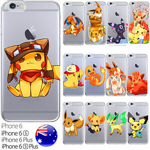 Cute-Silicone-Case-Cover-Pokemon-GO-Collection-Original-Ash-Misty-FreshPrintAU