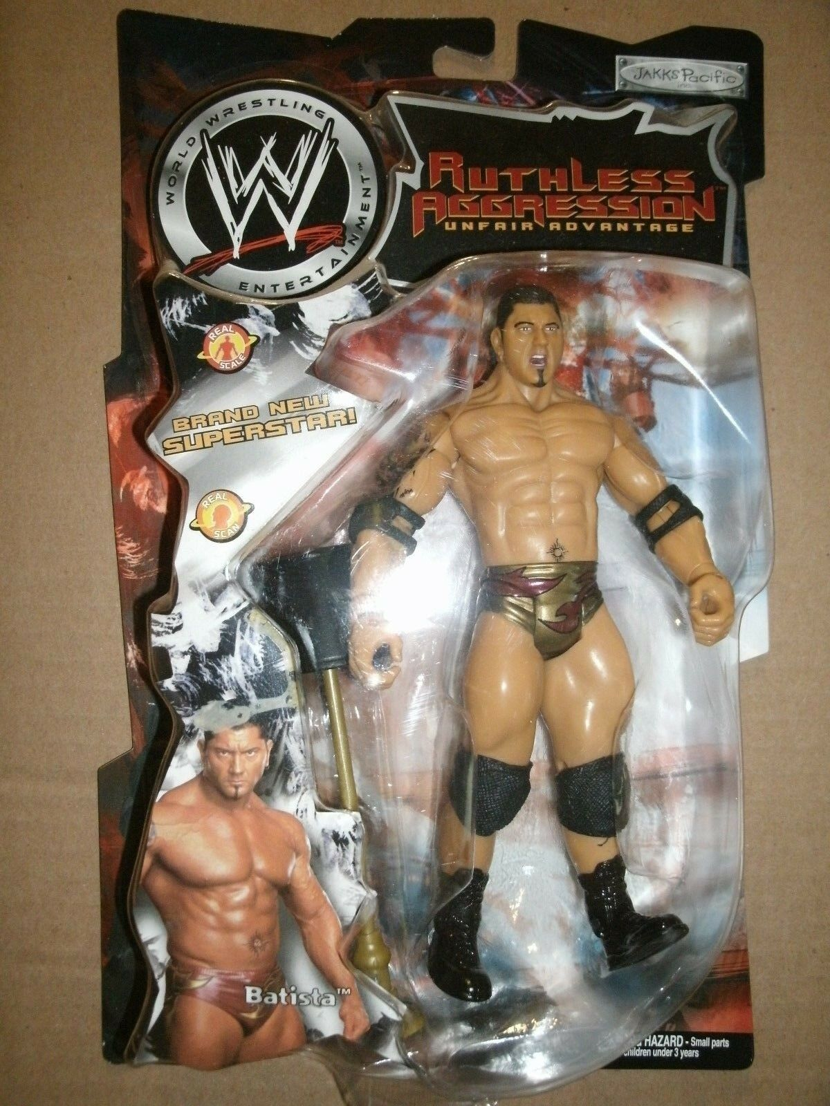WWE BATISTA RUTHLESS RUTHLESS RUTHLESS AGGRESSION WRESTLING FIGURE 7c0d20