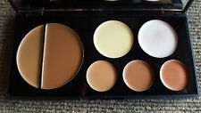 EVE PEARL Flawless Face Palette Foundation Blush Concealer DARK NWOB