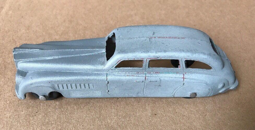 1930s Tootsietoy Jumbo optimizar sedan de dos tonos & Todo Original