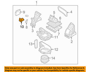 kia oem 07 10 rondo blower motor resistor 971281g000 ebay rh ebay com 2008 Kia Rio Engine Diagram 2007 Kia Rondo Fuel Parts