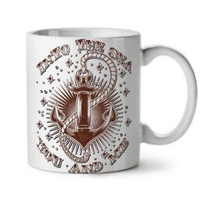 Into Sea Together NEW White Tea Coffee Mug 11 oz   Wellcoda