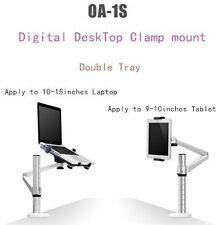 2 in 1 Adjustable Desk/Bed Stand/Holder/Mount for Laptop/Notebook/Tablet/iPad