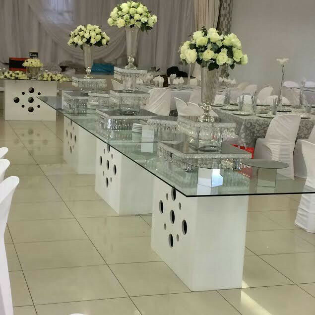 Mirror Table Decorations: Wedding Glass Tables For Hire