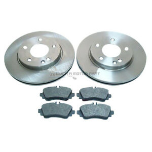 MERCEDES-A-CLASS-A160-A170-CDi-1998-2004-FRONT-2-BRAKE-DISCS-AND-PADS-BRAND-NEW