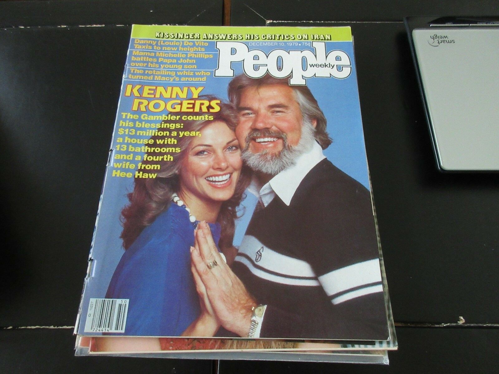 People Weekly , December 10 ,1979 , Kenny Rogers , Kiss