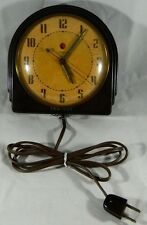 VTG Art Deco Telechron 2H07 ADMINISTRATOR Electric Wall Clock 1937-1940 Bakelite