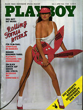 PLAYBOY D 4/1980 April - Rolling Stones + Interview Christiane F. Bahnhof Zoo