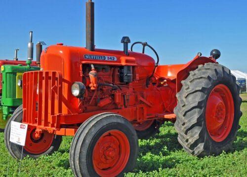 Nuffield 342 y 460 tractores-Manual de taller.