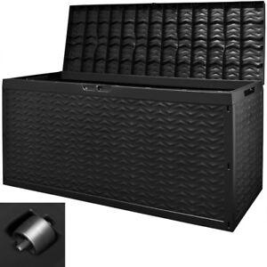Auflagenbox-Truhe-Gartenbox-Gartentruhe-Kissenbox-Kunststoff-Kissentruhe-320L