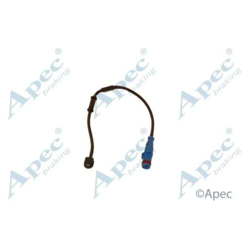 Fits Vauxhall Astra MK5 1.7 CDTI Genuine APEC Plaquettes Frein Avant Wear sensor