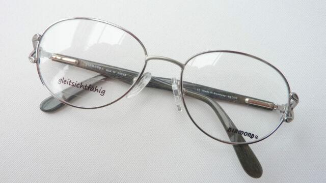 Kleidung & Accessoires Beauty & Gesundheit Brillen-gestelle Metallfassung Mit Federbügeln Schmuckbrille Damen Grösse M