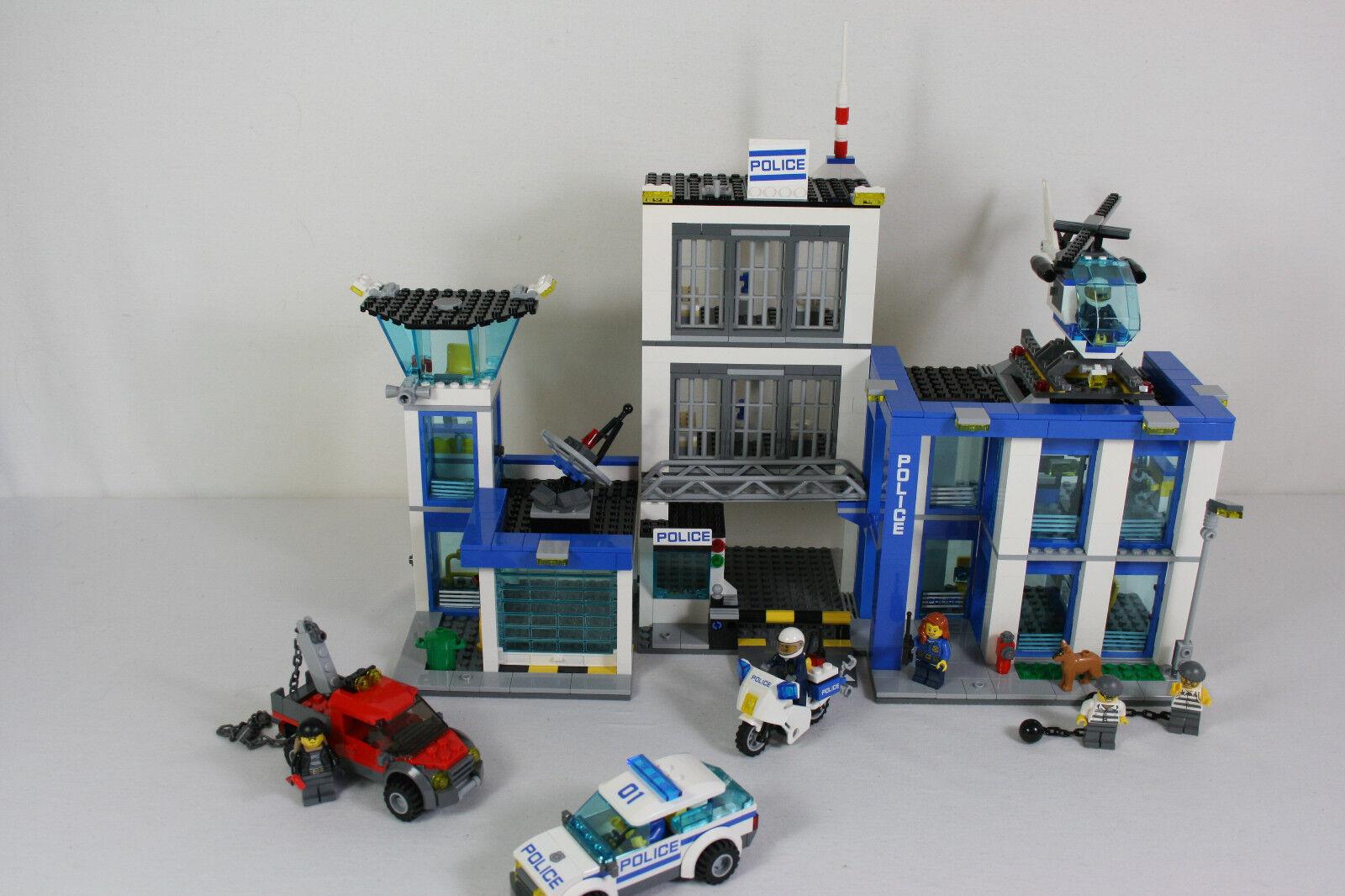 Lego City 60047 Ausbruch aus der Polizeistation komplett incl. BA
