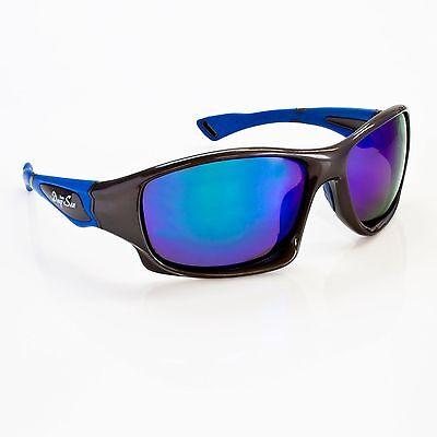 Verspiegelte Polarisationsbrille Polbrille Sonnenbrille Angelbrille TeamDeep Sea