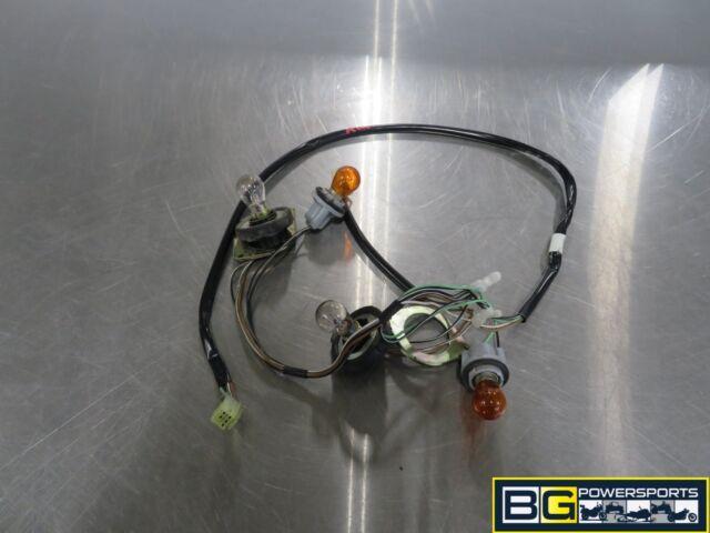 Eb403 2004 04 Suzuki Burgman An 400 Rear Tail Light Wire
