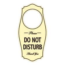 Stamp Press Do Not Disturb 200mm x 72mm Door Hanger DH00000377