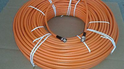 100/' Belden 8241 High Quality RG59 SDI//HD Digital Video BNC Male Cable