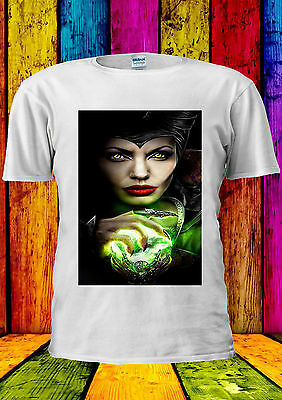 Disney Maleficent Movie Angelina Cool T-shirt Canotta Tank Top Uomini Donne Unisex 387-mostra Il Titolo Originale Negozio Online