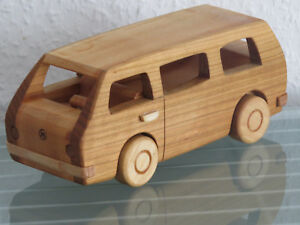 Bus Minibus Holzauto Modellauto Auto Holz Groß Holzspielzeug
