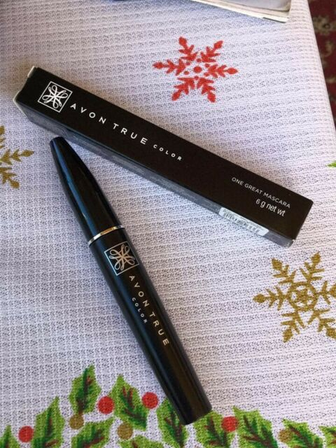 AVON TRUE COLOR ONE GREAT MASCARA 6g BROWN BLACK