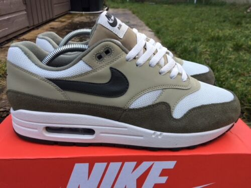 Air Ah8145 Max Eu 1 'moyenne emballage Hommes avec Taille Olive' 45 201 10 Baskets Neuf Nike Aw7B5wqT