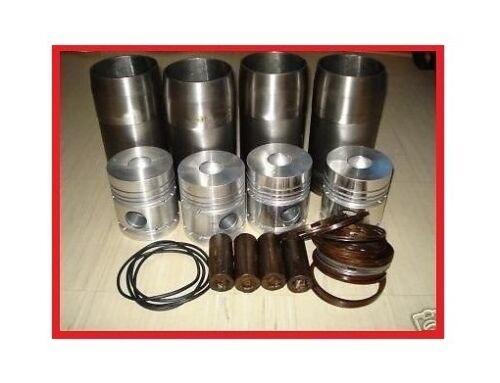 Kolben + Laufbuchse + Kolbenringe Satz MTS 80 82 800 900 Belarus 80PS Motor