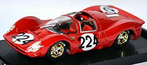 Brumm-1-43-Escala-Modelo-de-Metal-S037-Ferrari-330-P4-51A-Targa-Florio-1967-Nuevo