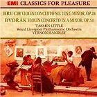 Dvorák: Violin Concerto; Bruch: Violin Concerto No. 1 (1990)
