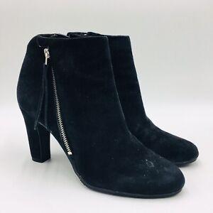 Sadee Angle Zip Bootie Size 9.5M