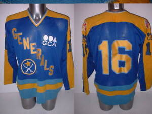 Generals Stall   Dean 16 Ice Hockey Shirt Jersey NHL Top Vintage Old ... e2d914779