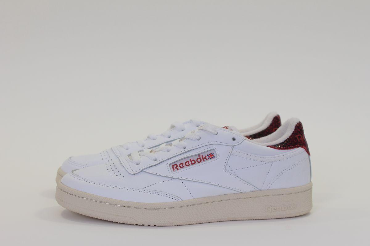 shoes Trainers Ladies Reebok Club C 85 vs BS8897 New
