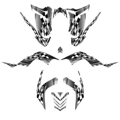 Raptor 700 graphics 2006 2007 2008 2009 2010 2011 2012 sticker kit NO2500 Metal