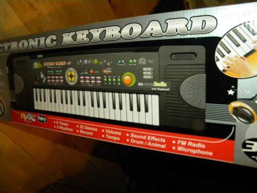 Radio built in this Keyboard digital auto rhythm piano Mini 44 keys organ combo