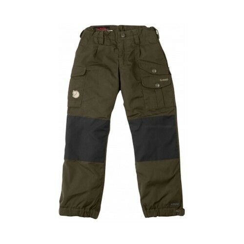 Fjäll Räven Niños Vidda  Padded Pantalón,oliva oscuro,cálido,IMPERMEABLE  cheap and top quality