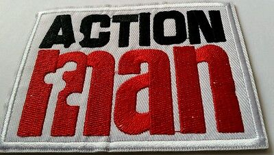 Action Man  embroidered patch iron or sew on