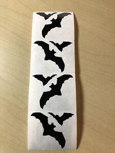 Strip of Vintage1994 RETIRED Bats Stickers Mrs Grossman BATS
