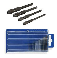 20PC Micro HSS Twist Drills & 4PC Pin Vice Set Suit Jewellers Watch Makers Tools