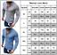 Mens-Linen-Slim-Fitted-Autumn-Henley-T-shirt-Top-Long-Sleeve-Casual-Smart-Shirts