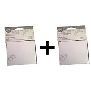 Wilton PLACE CARDS Silver Double Heart 40 Pack Wedding & Anniversary 2-Pack