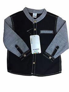 4c55bbda1c Boys Kids LC WAIKIKI 100% Cotton Shirts Toddler Summer Baby 9M- 4Y ...
