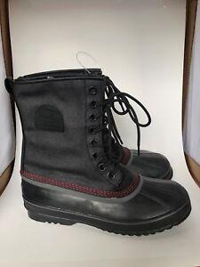 NEW-Sorel-Men-039-s-Boots-1964-Premium-T-CVS-Black-WATERPROOF-Pick-Size