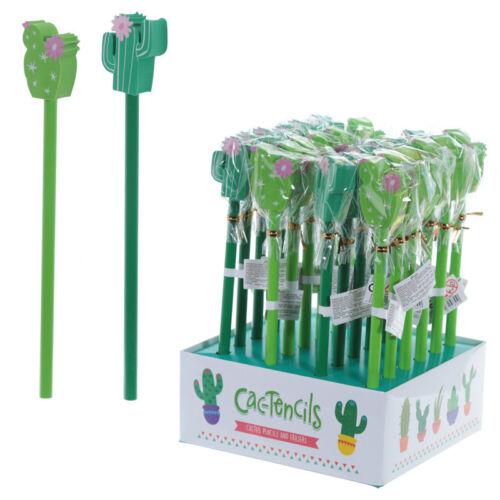 Cactus Crayon Effaceur Set Enfants Fête Faveur Cadeau D/'Anniversaire Idée Cadeau