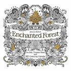 Johanna Basford Enchanted Forest Colouring in Official Calendar 2017