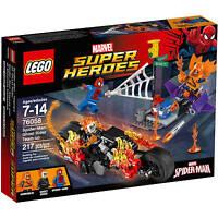 76058 Spider-man & Ghost Rider Team-up Lego Legos Set Marvel Hobgoblin