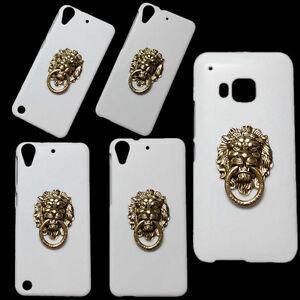 Fashion-Bronze-Lion-Head-Finger-Ring-Holder-Stand-Hard-Back-Case-Skin-for-Phones