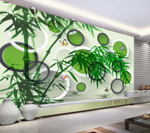 3D Bamboo 4119 Wallpaper Murals Wall Print Wallpaper Mural AJ WALL UK Carly